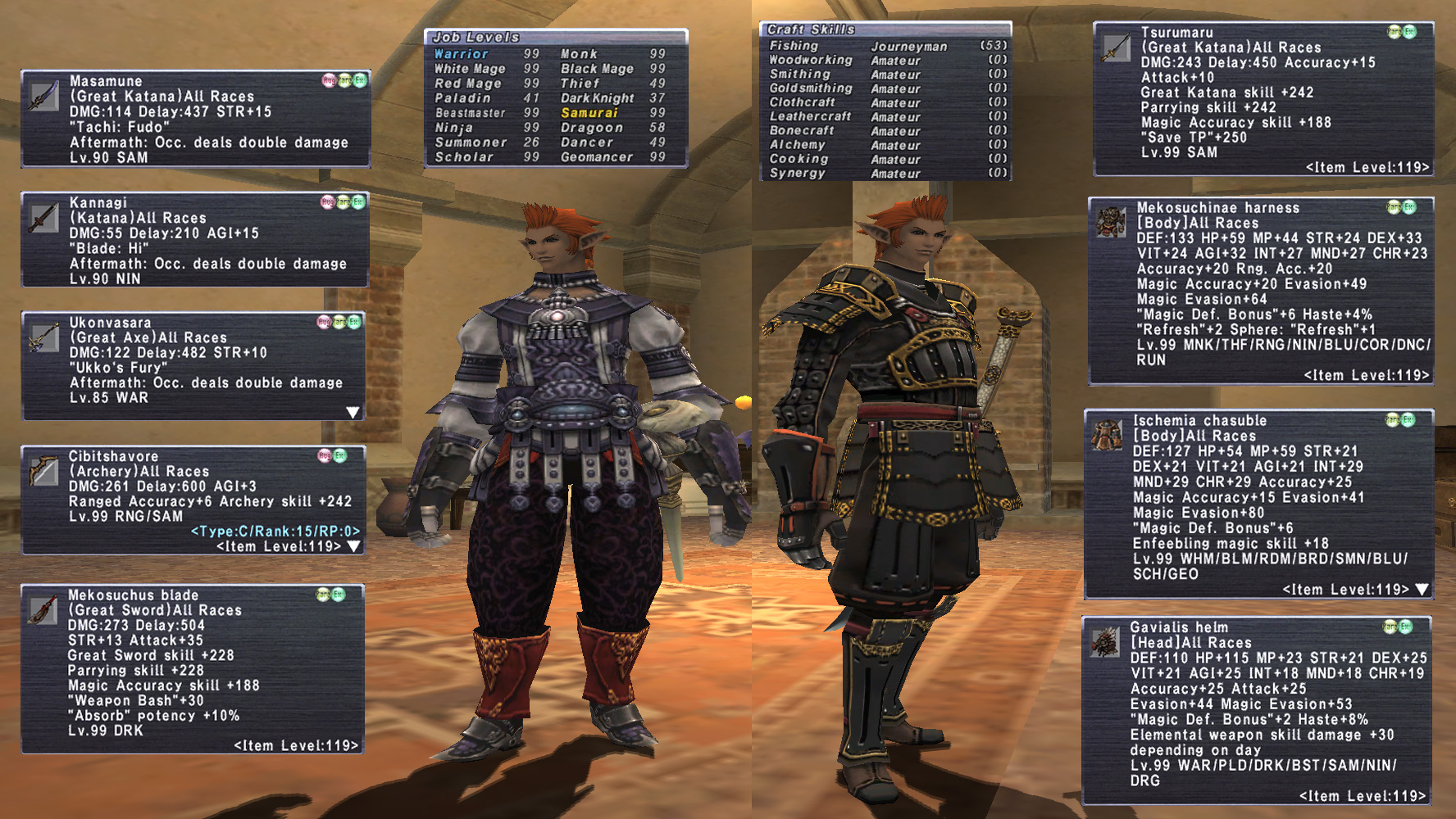FFXI Account for Sale, Accountswappers